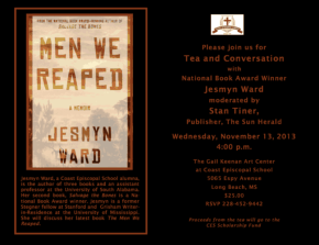 Event: Tea With National Book Award Winner Jesmyn Ward
