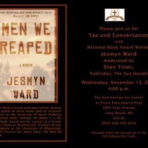 Event: Tea With National Book Award Winner JesmynWard